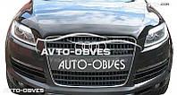 Дефлектор на капот (мухобойка) для Audi Q7
