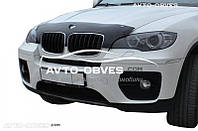 Дефлектор на капот (мухобойка) для BMW X5 E70