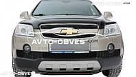 Дефлектор на капот (мухобойка) для Chevrolet Captiva