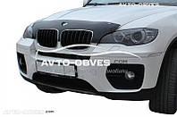 Дефлектор на капот (мухобойка) для BMW X6