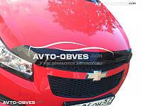 Дефлектор на капот (мухобойка) для Chevrolet Cruze