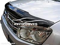 Дефлектор на капот (мухобойка) для Dacia Duster