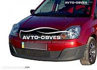 Дефлектор на капот (мухобойка) для Ford Fiesta