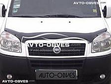 Дефлектор на капот (мухобойка) для Фиат Добло 2001 - 2012