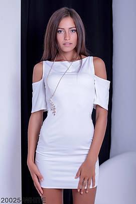 Коротке біле жіноче плаття Toul (XS-XXL)