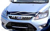 Дефлектор на капот (мухобойка) для Ford Focus 2008-2011