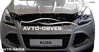 Дефлектор на капот (мухобойка) Ford Kuga 2013 - 2016