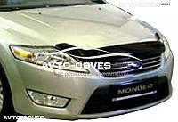 Дефлектор на капот (мухобойка) для Ford Mondeo 2008-2010