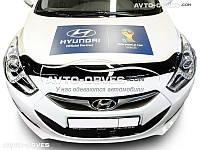 Дефлектор на капот (мухобойка) для Hyundai i40