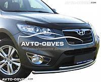 Дефлектор на капот (мухобойка) для Hyundai Santa Fe