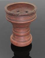 Чаша глиняная, турка, темно-коричневая