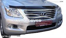 Дефлектор на капот (мухобойка) для Lexus LX570