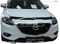 Дефлектор на капот (мухобойка) для Mazda CX 9
