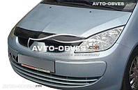 Дефлектор на капот (мухобойка) для Mitsubishi Colt 2004-2008
