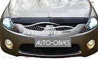 Дефлектор на капот (мухобойка) для Mitsubishi Grandis
