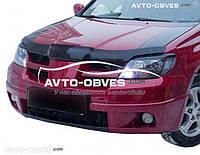 Дефлектор на капот (мухобойка) для Mitsubishi Outlander