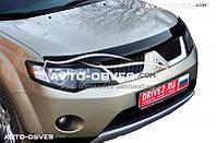 Дефлектор на капот (мухобойка) для Mitsubishi Outlander XL