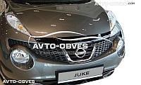 Дефлектор на капот (мухобойка) для Nissan Juke