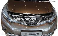 Дефлектор на капот (мухобойка) для Nissan Murano 2009-2014