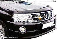 Дефлектор на капот (мухобойка) для Nissan Patrol