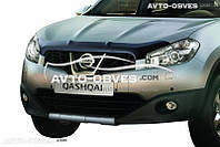 Дефлектор на капот (мухобойка) для Nissan Qashqai 2010-2014