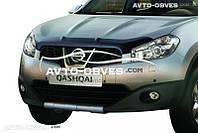 Дефлектор на капот (мухобойка) для Nissan Qashqai 2+