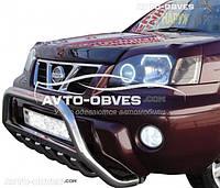 Дефлектор на капот (мухобойка) для Nissan X-Trail 2003-2006