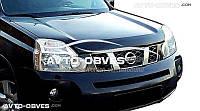 Дефлектор на капот (мухобойка) для Nissan X-Trail 2007-2014