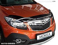 Дефлектор на капот (мухобойка) для Opel Mokka