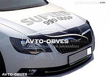 Дефлектор на капот (мухобойка) для Škoda SuperB 2014-...