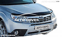 Дефлектор на капот (мухобойка) для Subaru Forester 2008-2012