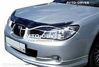 Дефлектор на капот (мухобойка) для Subaru Impreza 2007 - 2011