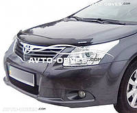 Дефлектор на капот (мухобойка) для Toyota Avensis