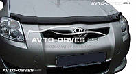 Дефлектор на капот (мухобойка) для Toyota Auris 2007 - 2009