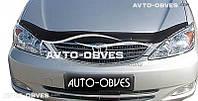 Дефлектор на капот (мухобойка) для Toyota Camry 2003-2006