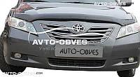 Дефлектор на капот (мухобойка) для Toyota Camry