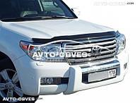 Дефлектор на капот (мухобойка) для Toyota Land Cruiser