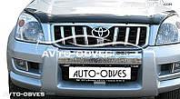 Дефлектор на капот (мухобойка) для Lexus GX, Toyota Land Cruiser Prado 120