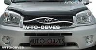 Дефлектор на капот (мухобойка) Toyota Rav4 2000-2005