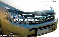 Дефлектор на капот (мухобойка) для Toyota Rav4 2006-2010