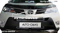 Дефлектор на капот (мухобойка) для Toyota Rav4 2013 - 2016