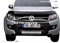 Дефлектор на капот (мухобойка) для Volkswagen Amarok