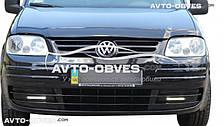 Дефлектор на капот (мухобойка) для Volkswagen Caddy