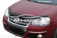 Дефлектор на капот (мухобойка) для VW Golf V