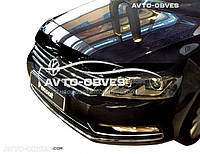 Дефлектор на капот (мухобойка) для VW Passat B7