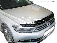Дефлектор на капот (мухобойка) для VW Passat B8