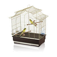Imac Pagoda Export АЙМАК ПАГОДА ЭКСПОРТ клетка для попугаев, пластик, 2.54 кг, латунь, 50х30х53 см.