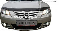 Дефлектор капота для Mazda 3 2005-2008 Alexa