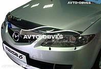 Дефлектор капота для Mazda 6 Atenza 2003-2007