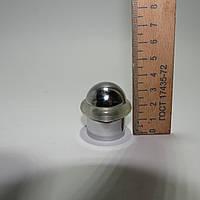 Ограничитель напольный цилиндр 20 мм хром